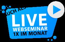 Logo Live Webseminar